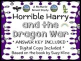 Horrible Harry and the Dragon War (Suzy Kline) Novel Study / Comprehension