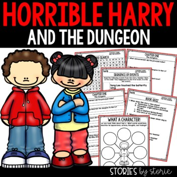 Horrible Harry and the Dungeon - Comprehension Questions
