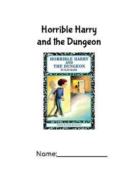 Horrible Harry and the Dungeon Novel Study