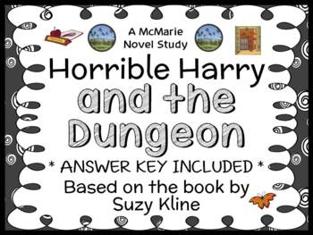 Horrible Harry and the Dungeon (Suzy Kline) Novel Study /
