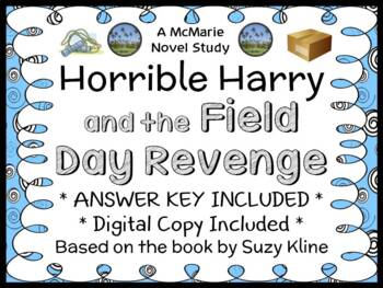 Horrible Harry and the Field Day Revenge (Suzy Kline) Novel Study (24 pages)