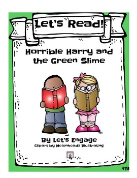 Horrible Harry and the Green Slime: Let's Read! (Reading Response Pk. GR L)
