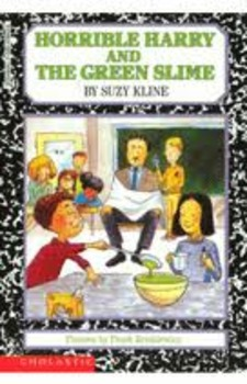 Horrible Harry and the Green Slime Set of 2 Books