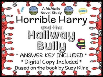 Horrible Harry and the Hallway Bully (Suzy Kline) Novel St