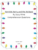 Horrible Harry and the Holidaze Comprehension Questions