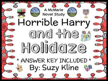 Horrible Harry and the Holidaze (Suzy Kline) Novel Study /