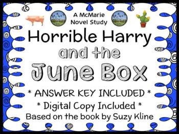 Horrible Harry and the June Box (Suzy Kline) Novel Study / Comprehension