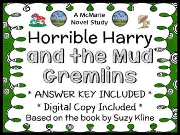Horrible Harry and the Mud Gremlins (Suzy Kline) Novel Study / Comprehension