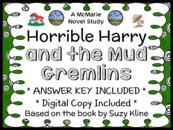 Horrible Harry and the Mud Gremlins (Suzy Kline) Novel Stu