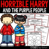 Horrible Harry and the Purple People - Comprehension Questions