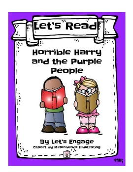 Horrible Harry and the Purple People: Let's Read! (Reading Response Pk. Level L)