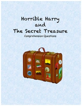 Horrible Harry and the Secret Treasure comprehension questions
