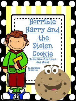Horrible Harry and the Stolen Cookie (Discussion Questions