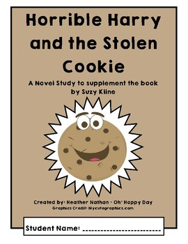 Horrible Harry and the Stolen Cookie Novel Study