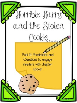 Horrible Harry and the Stolen Cookie Post-It Comprehension Questions