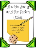 Horrible Harry and the Stolen Cookie Post-It Comprehension