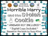 Horrible Harry and the Stolen Cookie (Suzy Kline) Novel Study / Comprehension