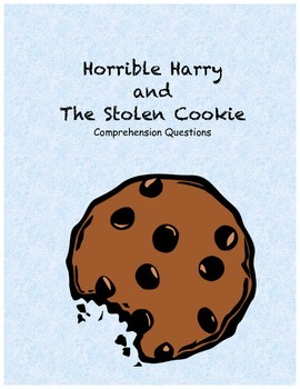 Horrible Harry and the Stolen Cookie comprehension questions