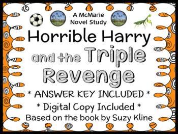 Horrible Harry and the Triple Revenge (Suzy Kline) Novel Study / Comprehension