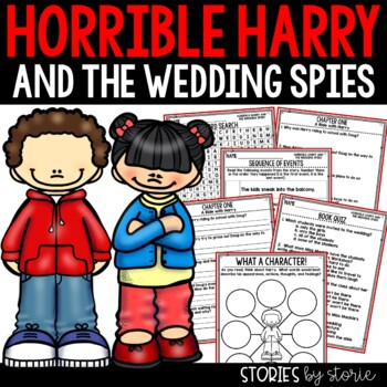 Horrible Harry and the Wedding Spies - Comprehension Questions