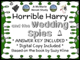 Horrible Harry and the Wedding Spies (Suzy Kline) Novel Study / Comprehension