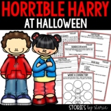 Horrible Harry at Halloween Distance Learning