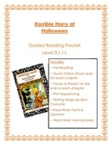 Horrible Harry at Halloween Guided Reading Packet