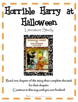 Horrible Harry at Halloween - Literature Study