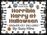 Horrible Harry at Halloween (Suzy Kline) Novel Study / Comprehension  (18 pages)