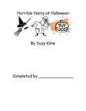 Horrible Harry at Halloween Suzy Kline Reading Comprehension Packet