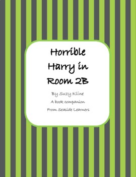 Horrible Harry in Room 2B book companion