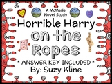 Horrible Harry on the Ropes (Suzy Kline) Novel Study / Reading Comprehension