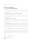 Horrible Harry on the Ropes by Suzy Kline Comprehension Questions