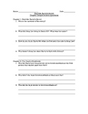 Horrible Harry's Secret Chapter Comprehension Questions
