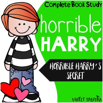 Horrible Harry's Secret Complete Book Unit