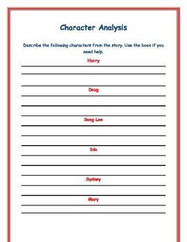 Horrible Harry's Secret - Book Study