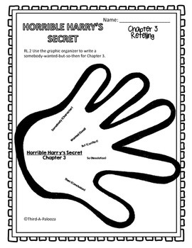 Horrible Harry's Secret CCSS Aligned Book Study 23 pages