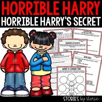 Horrible Harry's Secret - Comprehension Questions