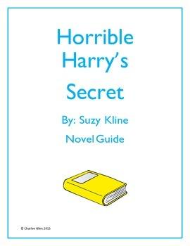 Horrible Harry's Secret Novel Guide
