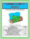 Horrible Harry's Secret Novel Unit