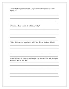 """Horrible Harry's Secret"", by S. Kline, Comp. Questions/Projects"