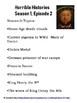 Horrible Histories Episode Guide Season 1 Episode 2