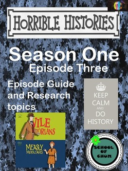Horrible Histories Episode Guide: Season 1, Episode 3