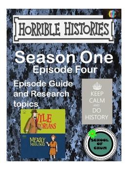 Horrible Histories Episode Guide: Season 1, Episode 4
