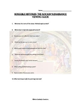 Horrible Histories Rockin Renaissance