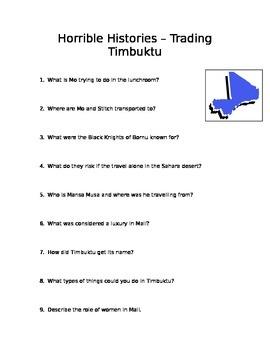 Horrible Histories: Trading Timbuktu