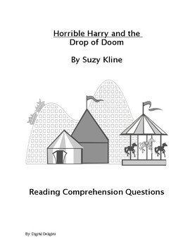 Horrible harry and the Drop of Doom Reading Comprehension Questions