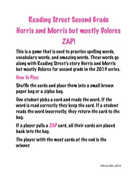 Horris and Morris but mostly Dolores ZAP