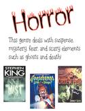 Horror Genre Poster
