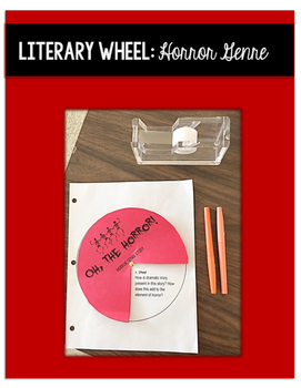 Horror Genre Study Literary Analysis Wheel